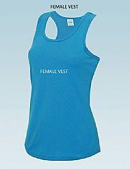 Ladies Vest £12.00