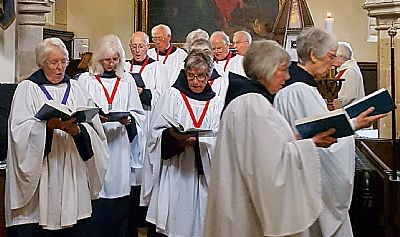 plumtree church robed choir