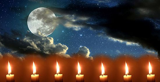 moonlight and candles image