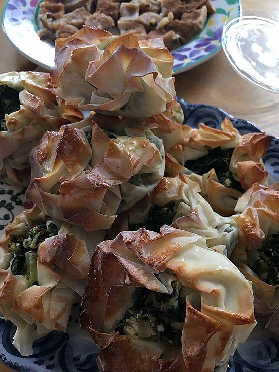 greek-style lunch