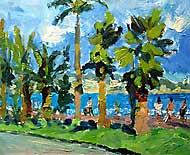 Palm trees, Nice