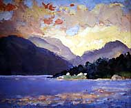 Sunset, Loch Linnhe