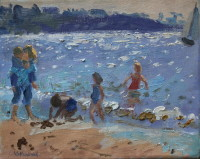 At the beach (sold)
