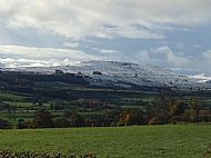 Snow on Pen Hill