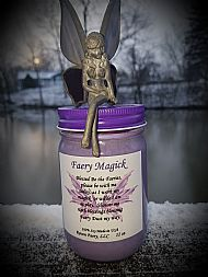 NEW!!  Faery Magick Candle