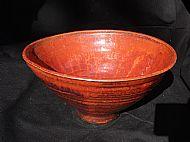 Fruit bowl with pedestal foot