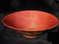Fruit bowl with exterior design