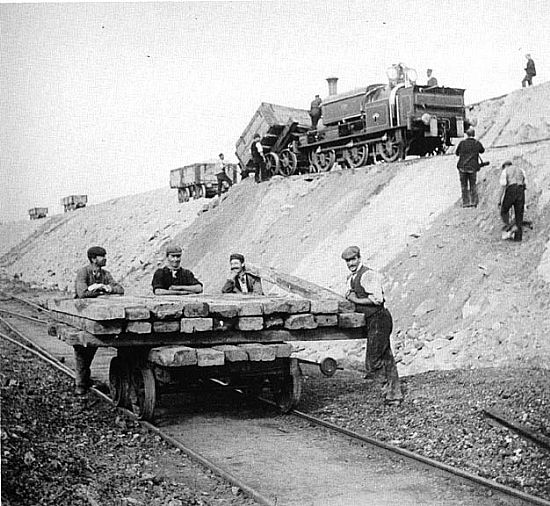 tipping wagons