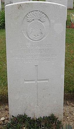 kemp headstone