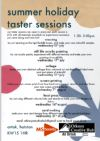 Summer Taster Workshops