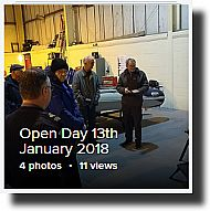 black isle men's shed : open day for prospective members