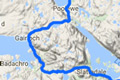 nc500 fishing map - north coast 500 route