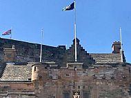 Edinburgh Castle. 14th May 2018.