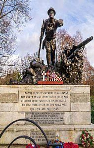 Kelvingrove Cameronian Memorial.