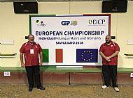 European Championships, Saigliano, Turin, Italy, October 2018