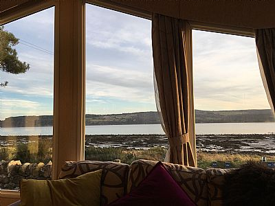 view of the firth from inside
