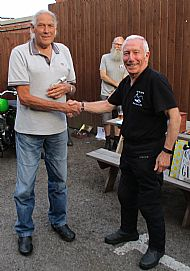 Concourse 2019 2nd Place Roger Howlet 1957 BSA Goldstar DBD34