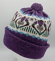 Lerwick hat - heather
