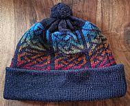 Lindisfarne bobble hat - navy