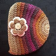 Flower Beanie (turkish delight)