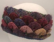 headband - ruby mix