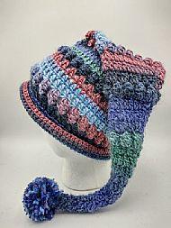 pixie hat - aquamarine