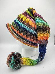 pixie hat - bright mix