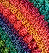 Pixie Hat - bright rainbow