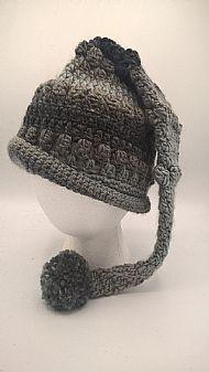 pixie hat - domino