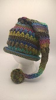 pixie hat - pastel