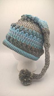 pixie hat - sapphire