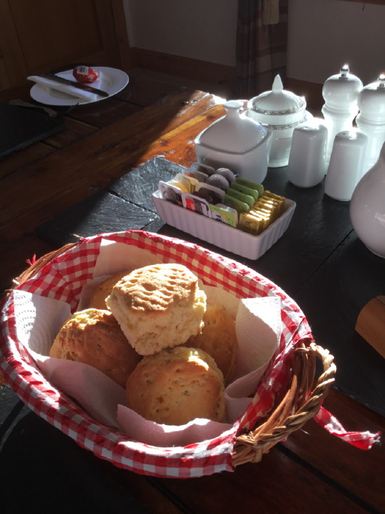 sgritheal view b&b skye - breakfast