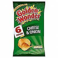Golden Wonder Multipak Cheese & Onion