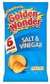 Golden Wonder Multipak Salt & Vinegar