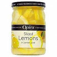 Sliced Lemons in Juice