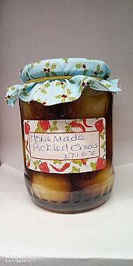 Homemade Pickled Onions - Medium