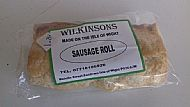 Island Made Sausage roll - Cooked