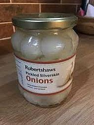 Pickled silverskin onions