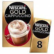 Nescafe Gold Cappuccino sachets