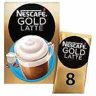 Nescafe Gold Latte sachets
