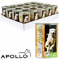 Apollo dog food tin - beef