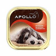 Apollo dog food 150g - beef