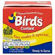 Birds ready made custard 1kg