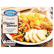 Chicken dinner meal