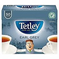 Tetley Earl grey Tea - 50 bags