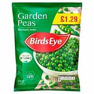Birds eye peas