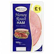 Honey roast ham