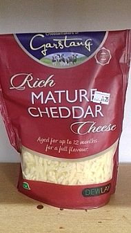 Mature grated cheddar - 180g