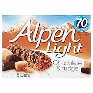 Alpen bars - Chocolate/fudge