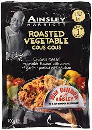Ainsley's Roasted Vegetable cous cous